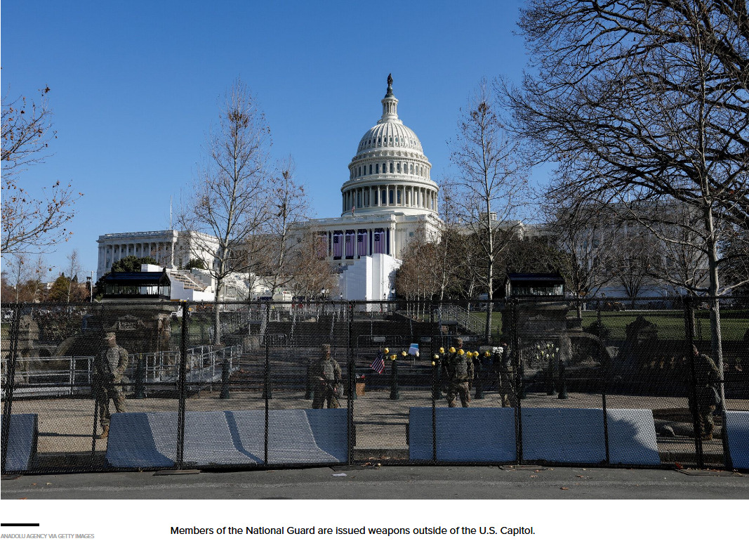 DC On Lockdown: Is this what preparation for the largest false flag in US history, orchestrated with the intention of sparking a civil war looks like?